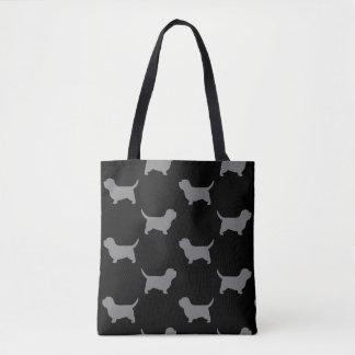 Petit motif de silhouettes de Vendeen de griffon Sac