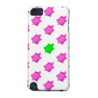 Petit motif mignon tortue rose/verte