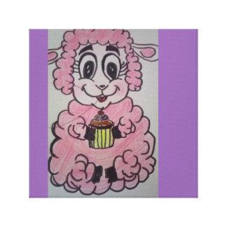 Petit mouton gourmand toiles