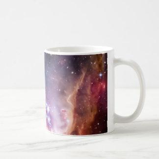 Petit nuage de Magellanic pourpre Mug Blanc