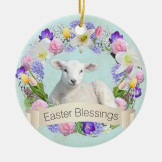 Petit ornement de Pâques d'agneau