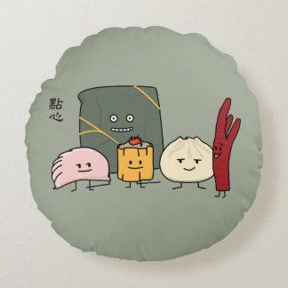Petit pain chinois de petits pains de boulette de coussins ronds