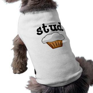 Petit pain de goujon, bon cuit au four drôle migno t-shirt pour chien