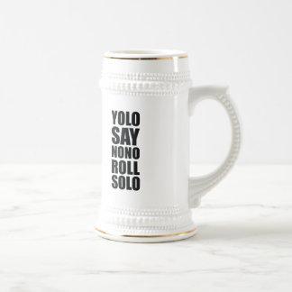 Petit pain de YOLO solo Chope À Bière