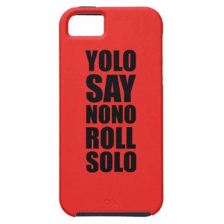 Petit pain de YOLO solo Coques Case-Mate iPhone 5