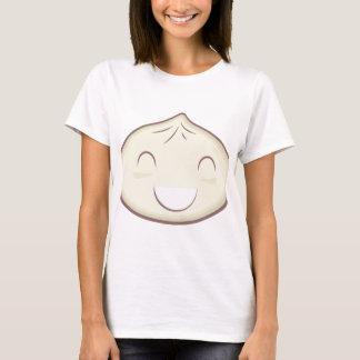 Petit pain heureux de vapeur t-shirt