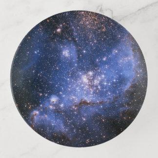 Petit plateau de bibelot de nuage de Magellanic