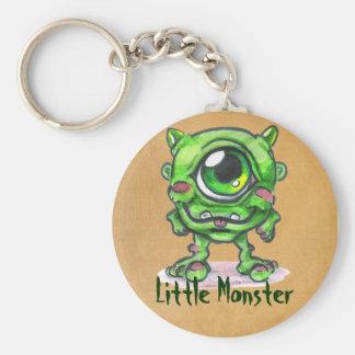 Petit porte - clé de monstre porte-clé rond