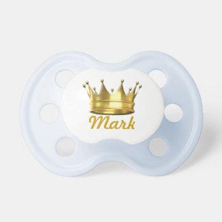Petit prince personnalisé Crown Pacifier Tétines Pour Bébé