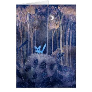 petit renard cartes de vœux
