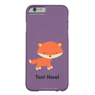 Petit renard coque barely there iPhone 6