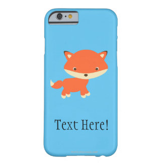Petit renard coque iPhone 6 barely there