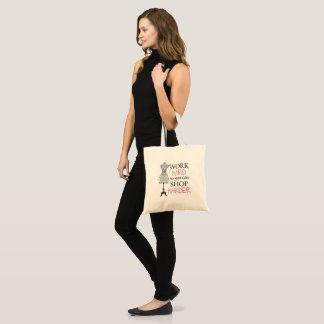 Petit sac à provisions girly