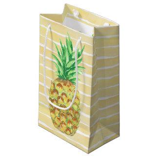Petit Sac Cadeau Ananas