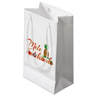Petit Sac Cadeau Ananas de Hawaïen de Mele Kalikimaka