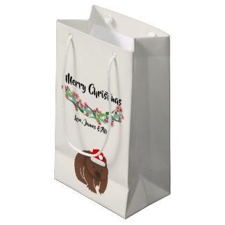 Petit Sac Cadeau Conception australienne d'animaux de Noël