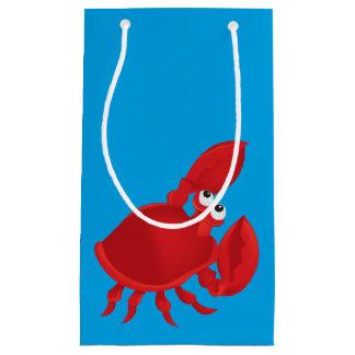 Petit Sac Cadeau Crabe de bande dessinée