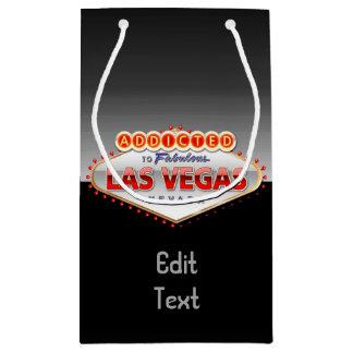 Petit Sac Cadeau Dépendant signe drôle à Las Vegas, Nevada