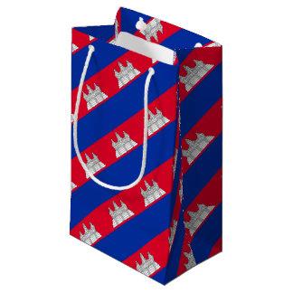 Petit Sac Cadeau Drapeau du Cambodge
