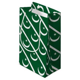 Petit Sac Cadeau Drapeau du Pakistan