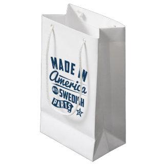 Petit Sac Cadeau Fabriqué en Amérique avec les pièces suédoises