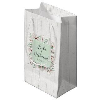 Petit Sac Cadeau Faveur du sud rustique de mariage de ferme de