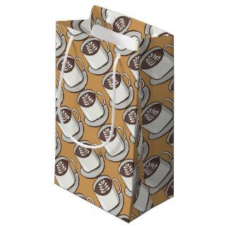 Petit Sac Cadeau Flourish de café