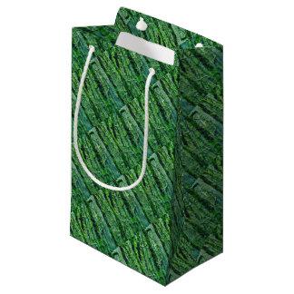 Petit Sac Cadeau Forêt verte
