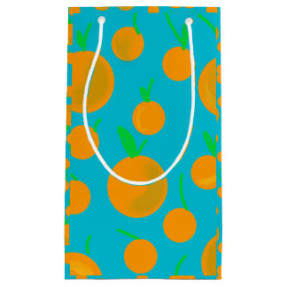 Petit Sac Cadeau Gift bag Orange
