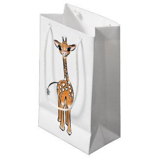 Petit Sac Cadeau Girafe de bébé