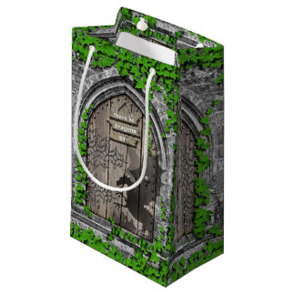 Petit Sac Cadeau Il y ait le Roi Arthur Medieval Dragon Door de