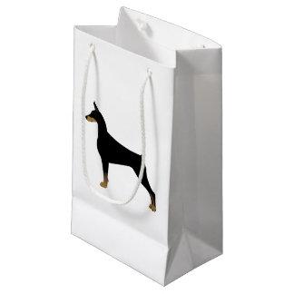 Petit Sac Cadeau Illustration de base de race de chien de Pinscher