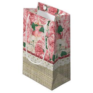 Petit Sac Cadeau Jardin de roses