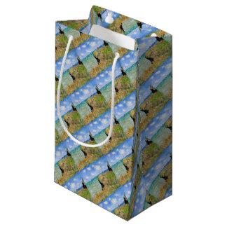 Petit Sac Cadeau La falaise de Pourville de Claude Monet