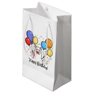 Petit Sac Cadeau Lama de joyeux anniversaire