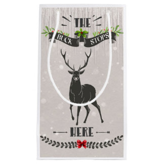 Petit Sac Cadeau Le mâle arrête ici petit Noël Giftbag