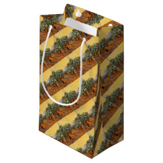 Petit Sac Cadeau Les oliviers de Vincent Van Gogh (Olives trees)