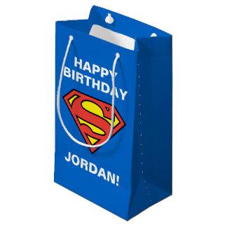 Petit Sac Cadeau Logo classique des bandes dessinées | Superman |