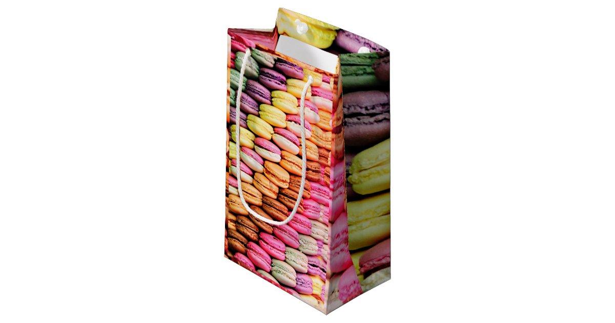 petit sac cadeau macaron fran ais. Black Bedroom Furniture Sets. Home Design Ideas