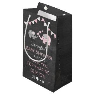 Petit Sac Cadeau Merci de regard de tableau de baby shower