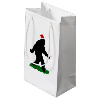 Petit Sac Cadeau Noël Squatchin