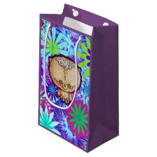 Petit Sac Cadeau Ours de hippie