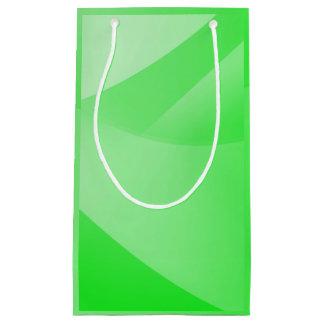 Petit Sac Cadeau Papier peint vert