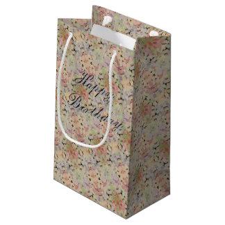 Petit Sac Cadeau Petit joli Cadeau-sac fleuri d'anniversaire de