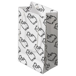 sacs cadeaux mouton. Black Bedroom Furniture Sets. Home Design Ideas