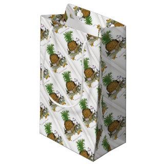 Petit Sac Cadeau Pineapple du monde de Yorkshire d'amour le 'plus