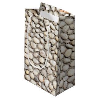 Petit Sac Cadeau Roches en pierre de trottoir de passage couvert de