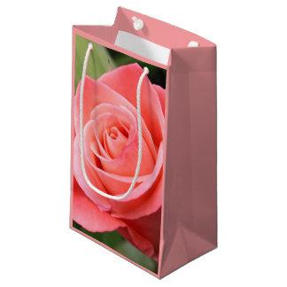 Petit Sac Cadeau Rose de rose