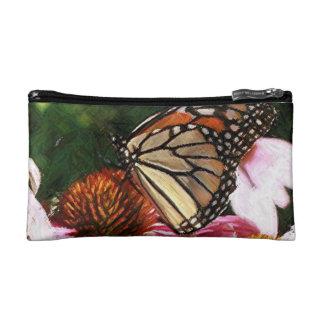 Petit sac coloré de cosmétiques de papillon par
