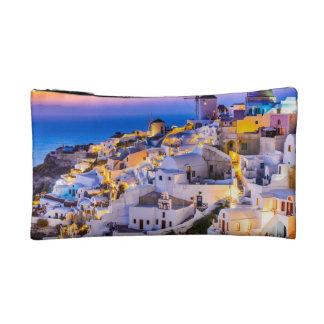 Petit sac cosmétique Oia, Santorini